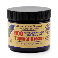 American Shaman CBD Topical 500T